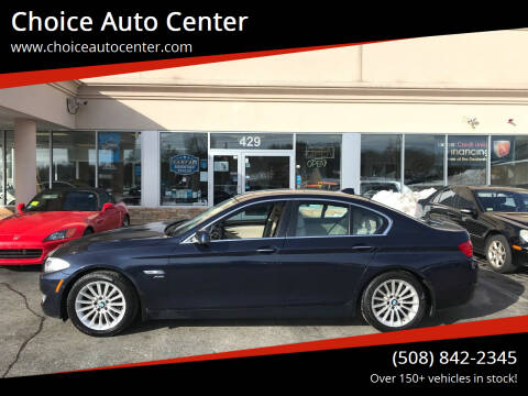 2011 BMW 5 Series for sale at Choice Auto Center in Shrewsbury MA