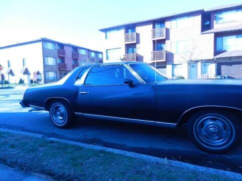 1976 Chevrolet Monte Carlo for sale at Classic Car Deals in Cadillac MI