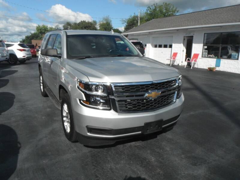 2015 Chevrolet Tahoe for sale at Morelock Motors INC in Maryville TN