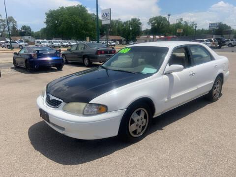 1999 Mazda 626 for sale at Peak Motors in Loves Park IL