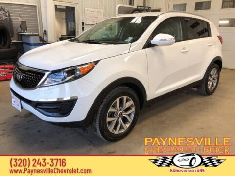 2015 Kia Sportage for sale at Paynesville Chevrolet - Buick in Paynesville MN