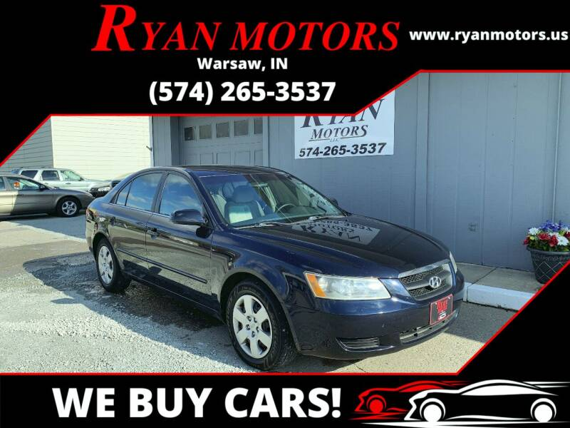 2007 Hyundai Sonata for sale at Ryan Motors LLC in Warsaw IN