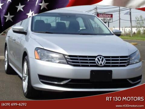 2015 Volkswagen Passat for sale at RT 130 Motors in Burlington NJ