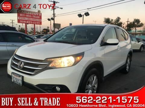 2014 Honda CR-V for sale at Carz 4 Toyz in Inglewood CA