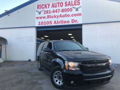 2007 Chevrolet Tahoe for sale at Ricky Auto Sales in Houston TX