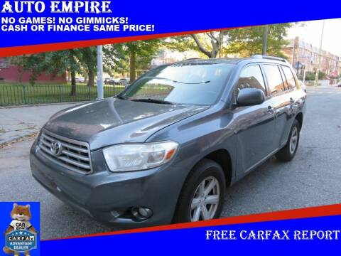 2010 Toyota Highlander for sale at Auto Empire in Brooklyn NY