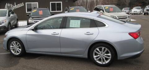2017 Chevrolet Malibu for sale at AUTOHAUS in Tomahawk WI