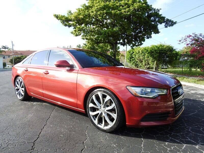 2015 Audi A6 for sale at SUPER DEAL MOTORS 441 in Hollywood FL