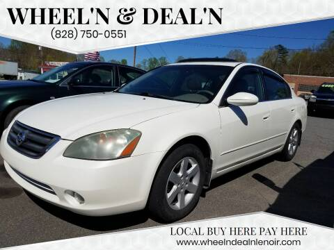 2004 Nissan Altima for sale at Wheel'n & Deal'n in Lenoir NC