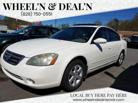 2004 Nissan Altima for sale at Wheel'n & Deal'n in Lenoir NC