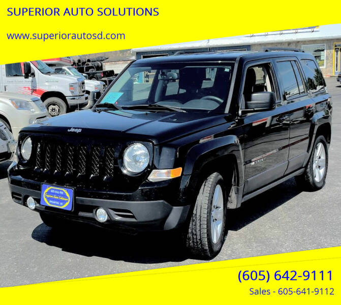 2017 Jeep Patriot for sale at SUPERIOR AUTO SOLUTIONS in Spearfish SD