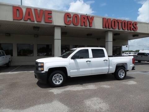 2015 Chevrolet Silverado 1500 for sale at DAVE CORY MOTORS in Houston TX