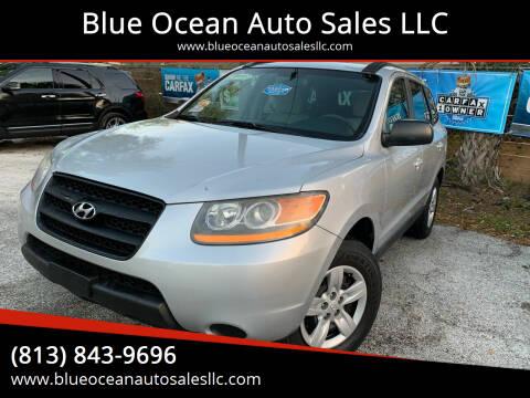 2009 Hyundai Santa Fe for sale at Blue Ocean Auto Sales LLC in Tampa FL