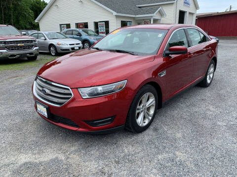 2018 Ford Taurus for sale at Evia Auto Sales Inc. in Glens Falls NY