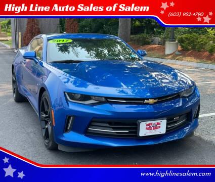 2017 Chevrolet Camaro for sale at High Line Auto Sales of Salem in Salem NH