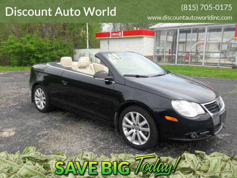 2008 Volkswagen Eos for sale at Discount Auto World in Morris IL