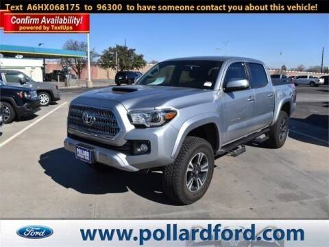 2017 Toyota Tacoma for sale at South Plains Autoplex by RANDY BUCHANAN in Lubbock TX
