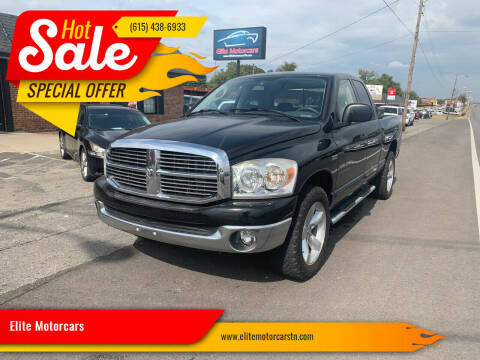 2007 Dodge Ram Pickup 1500 for sale at Elite Motorcars in Smyrna TN