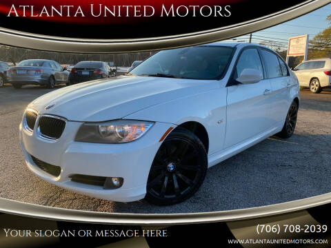 2011 BMW 3 Series for sale at Atlanta United Motors in Jefferson GA
