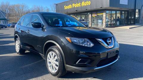 2016 Nissan Rogue for sale at South Point Auto Plaza, Inc. in Albany NY