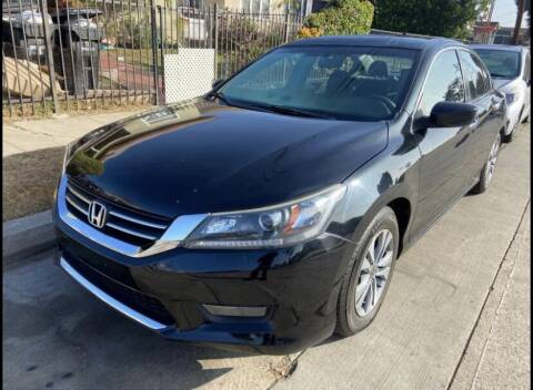 2013 Honda Accord for sale at Innovative Auto Group in Little Ferry NJ