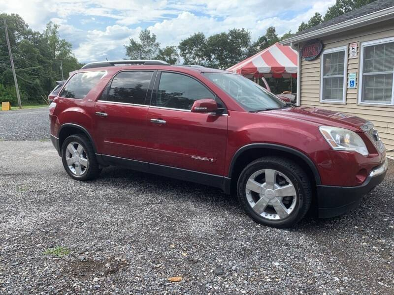 2007 GMC Acadia for sale at Old Trail Auto Sales in Etters PA