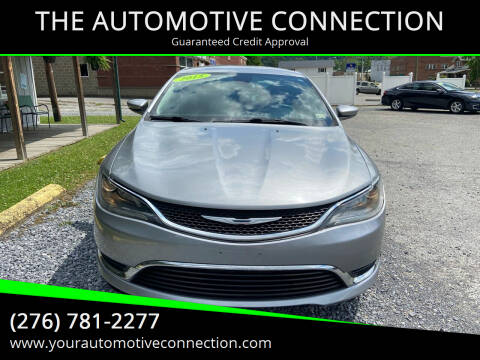 2015 Chrysler 200 for sale at THE AUTOMOTIVE CONNECTION in Atkins VA