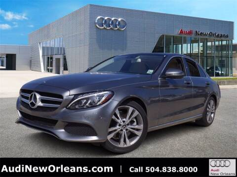 2018 Mercedes-Benz C-Class for sale at Metairie Preowned Superstore in Metairie LA