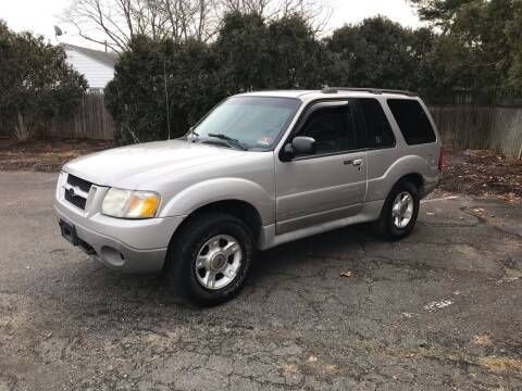 2002 Ford Explorer Sport for sale at Elwan Motors in West Long Branch NJ