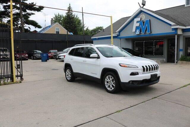 2017 Jeep Cherokee for sale at F & M AUTO SALES in Detroit MI