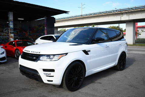 2017 Land Rover Range Rover Sport for sale at STS Automotive - Miami, FL in Miami FL