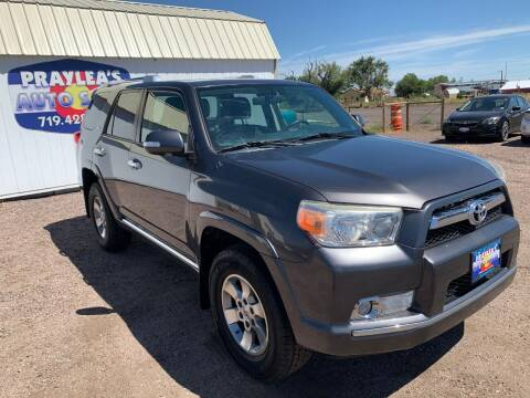 2013 Toyota 4Runner for sale at Praylea's Auto Sales in Peyton CO