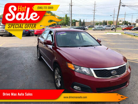 2009 Kia Optima for sale at Drive Max Auto Sales in Warren MI