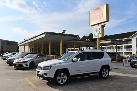 2015 Jeep Compass for sale at Houston Used Auto Sales in Houston TX