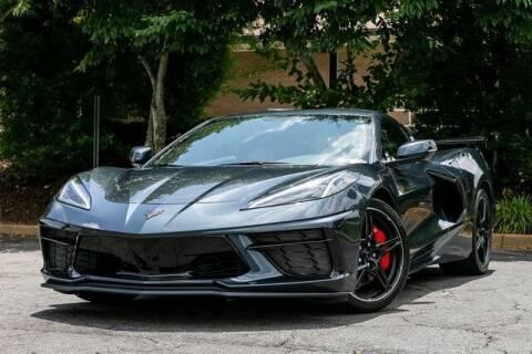2021 Chevrolet Corvette for sale at Gravity Autos Atlanta in Atlanta GA