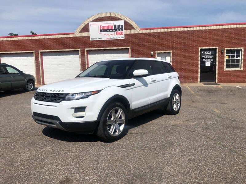 2012 Land Rover Range Rover Evoque for sale at Family Auto Finance OKC LLC in Oklahoma City OK