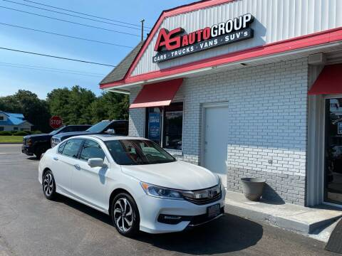 2017 Honda Accord for sale at AG AUTOGROUP in Vineland NJ