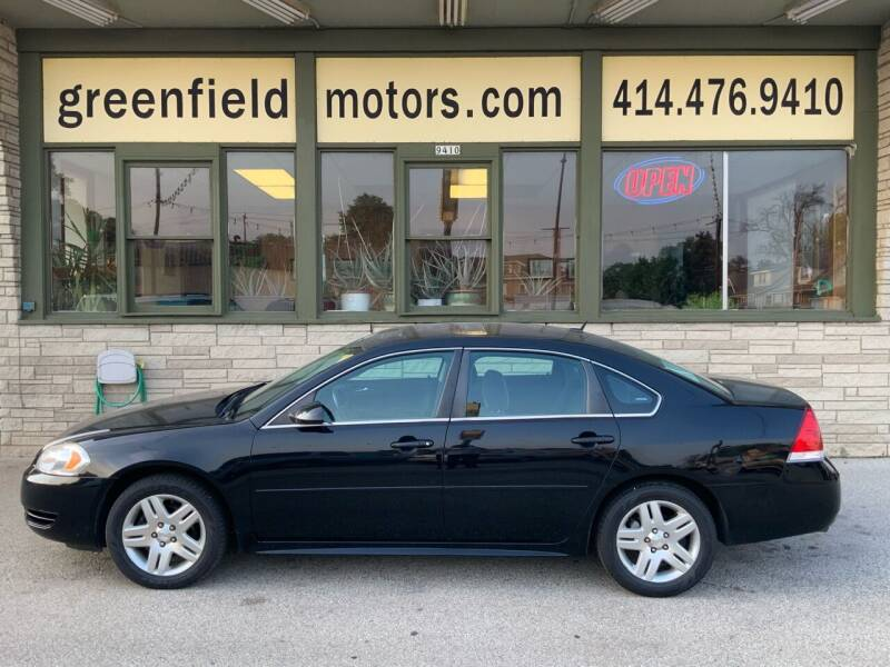 2014 Chevrolet Impala Limited for sale at GREENFIELD MOTORS in Milwaukee WI