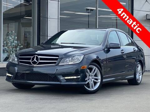 2014 Mercedes-Benz C-Class for sale at Carmel Motors in Indianapolis IN