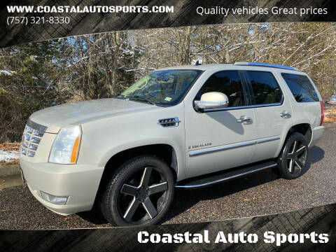 2008 Cadillac Escalade for sale at Coastal Auto Sports in Chesapeake VA