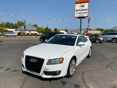 2011 Audi A5 for sale at TDI AUTO SALES in Boise ID