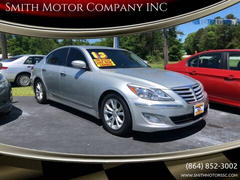 2013 Hyundai Genesis for sale at Smith Motor Company INC in Mc Cormick SC