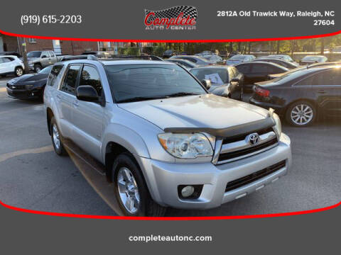 2006 Toyota 4Runner for sale at Complete Auto Center , Inc in Raleigh NC
