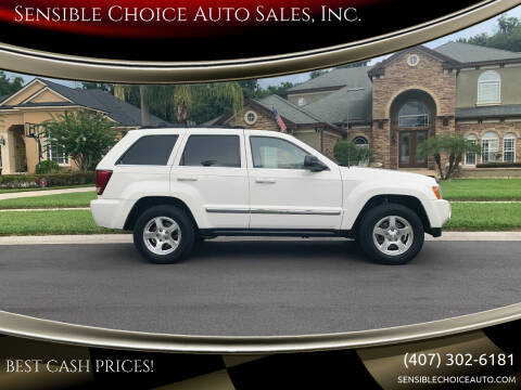 2007 Jeep Grand Cherokee for sale at Sensible Choice Auto Sales, Inc. in Longwood FL