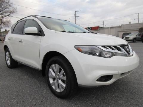 2012 Nissan Murano for sale at Cam Automotive LLC in Lancaster PA