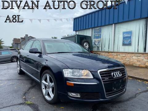 2009 Audi A8 L for sale at Divan Auto Group in Feasterville Trevose PA