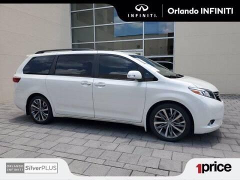 2017 Toyota Sienna for sale at Orlando Infiniti in Orlando FL