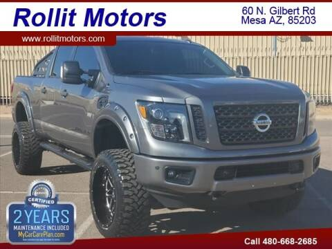 2018 Nissan Titan XD for sale at Rollit Motors in Mesa AZ