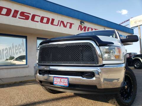 2017 RAM Ram Pickup 2500 for sale at Discount Motors in Pueblo CO