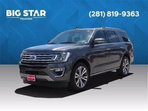 2020 Ford Expedition for sale at BIG STAR HYUNDAI in Houston TX